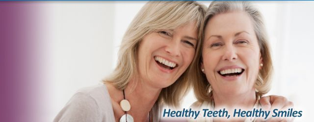 Healthy Teeth, Healthy Smiles | Smiling mature women
